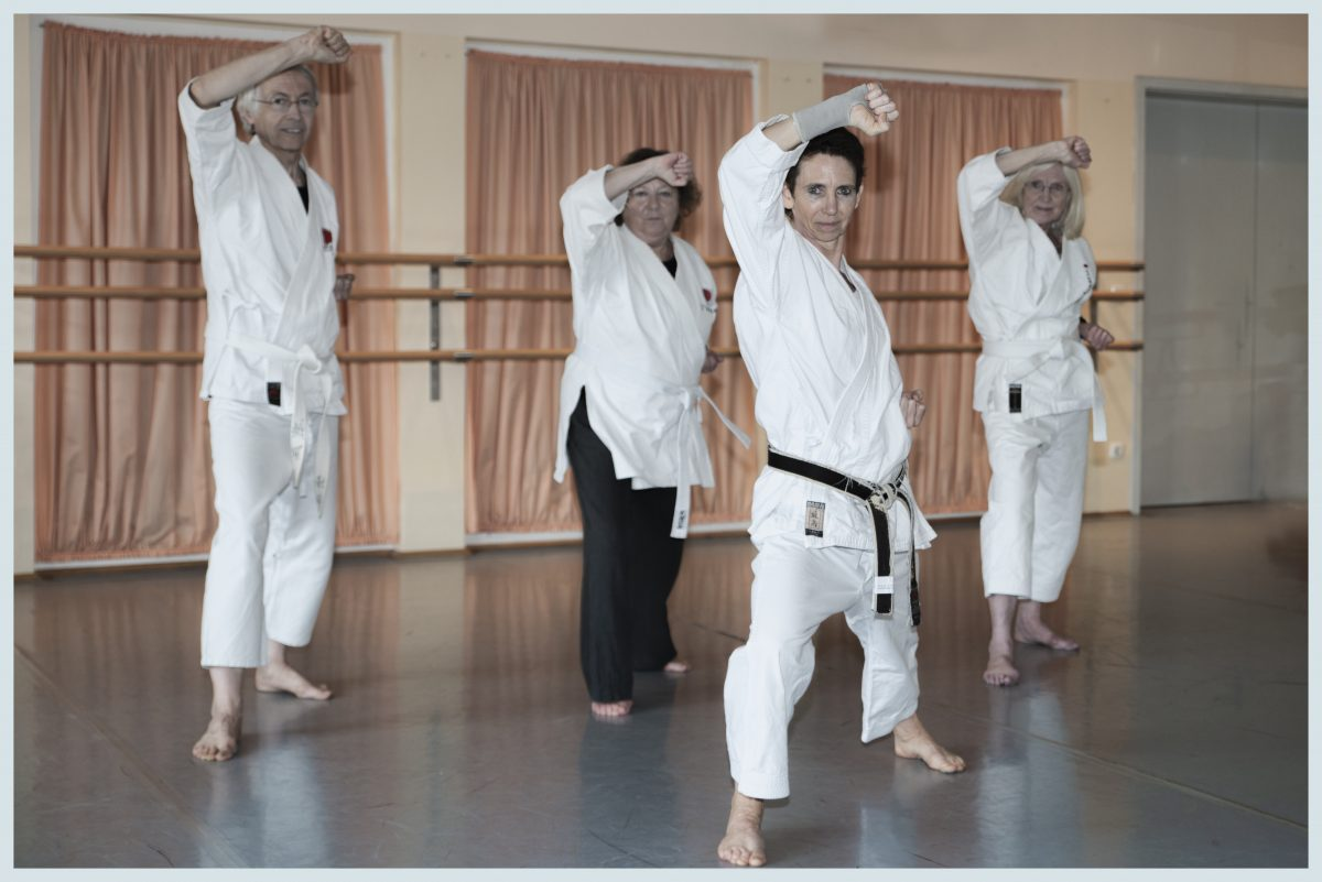 Unser Seniorenkarate Training