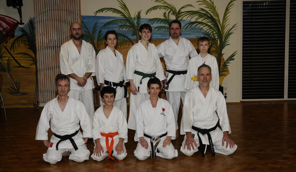 Erstes Training 2019