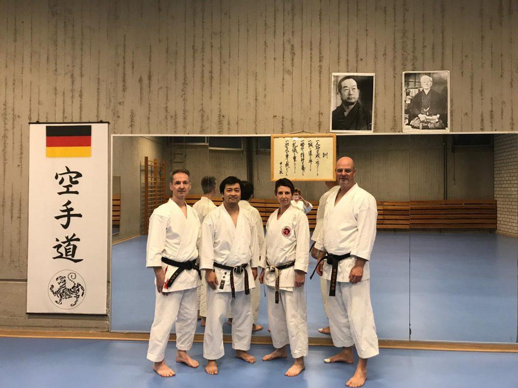Kata Training in Düsseldorf 1