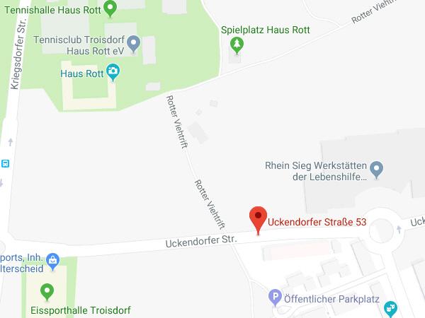 Lageplan Uckendorfer Strasse