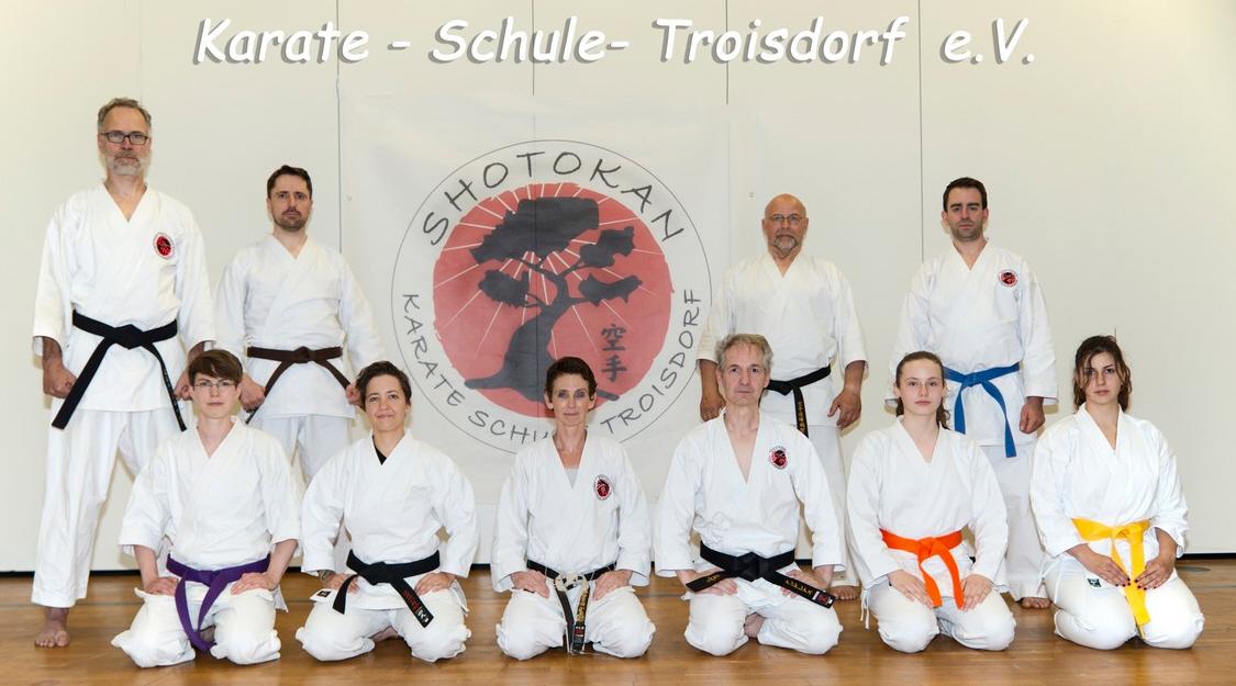 Karate-Schule Troisdorf e.V. und die 100 Prozent
