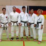 Lehrgang in München mit Naka Sensei