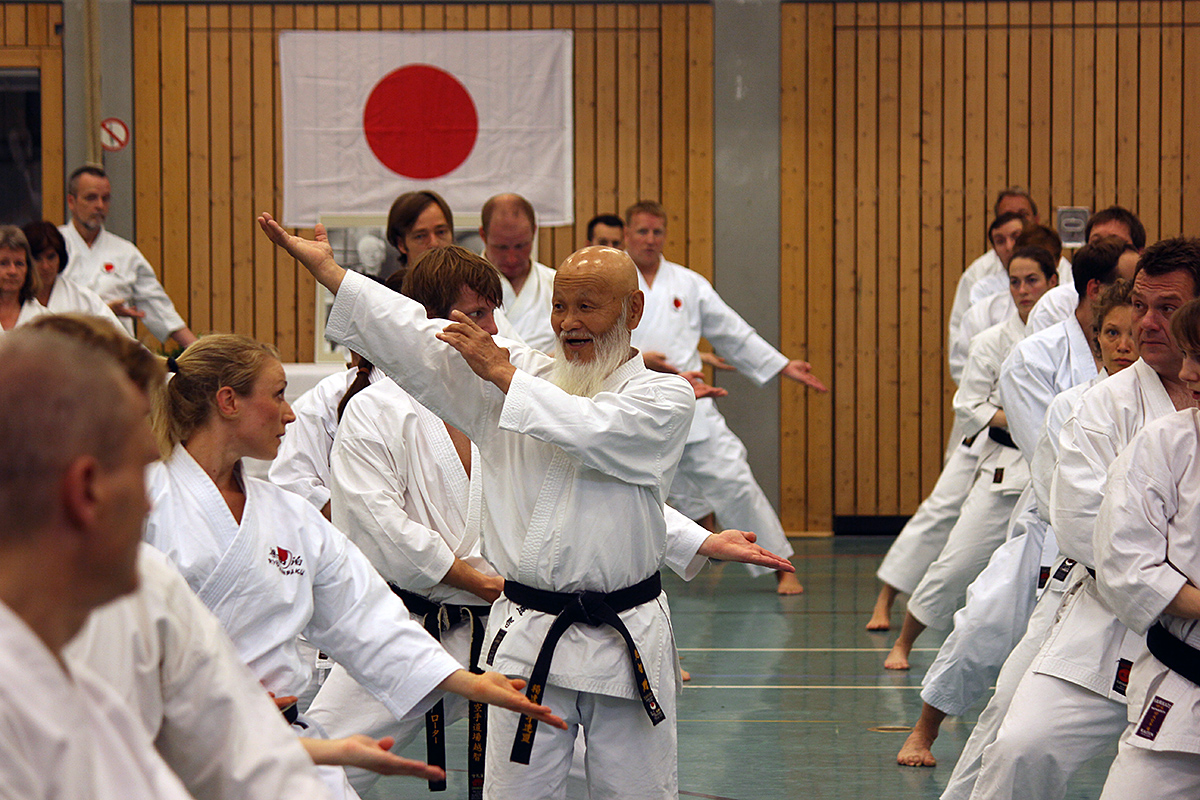 Shihan Ochi beim Training