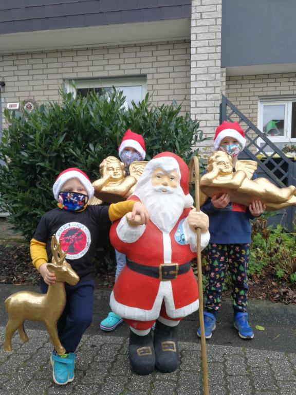 Weihnachten 2020 - Haustürbescherung