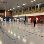 Anfängerkurs und Unterstufe der Karate-Schule Troisdorf