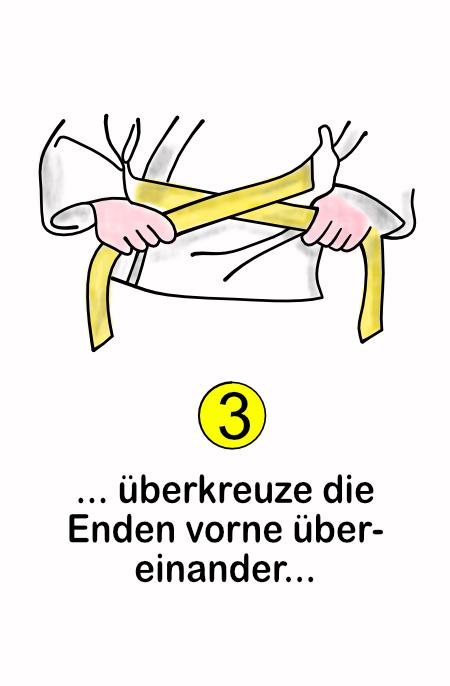Wie binde ich einen Gürtel Schritt-3