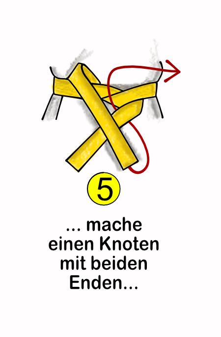 Wie binde ich einen Gürtel Schritt-5