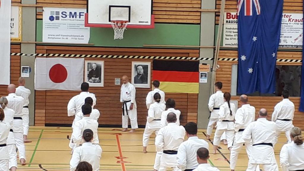 Training mit Hido Ochi 9.Dan