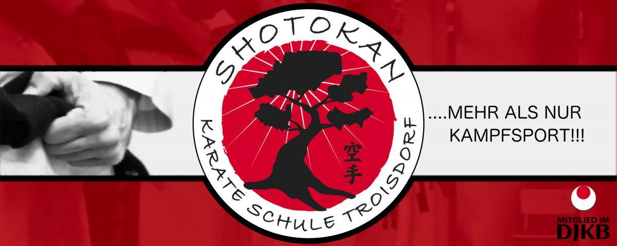 Banner der Karate Schule Troisdorf e.V.