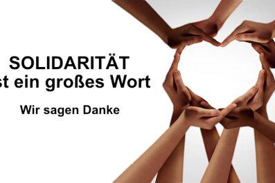 Solidarität in der Karate-Schule Troisdorf